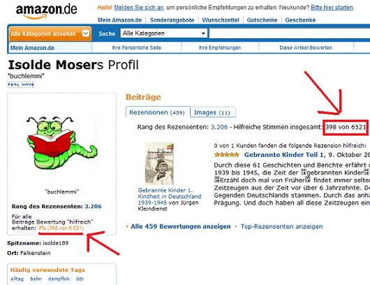 Isolde Moser von Amazon